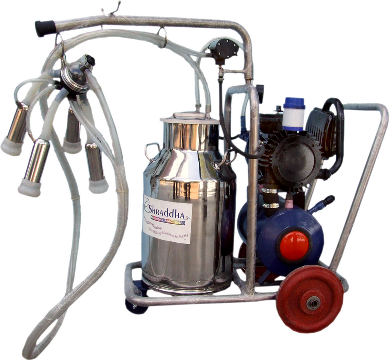 Вакуумный доильный аппарат для коров.